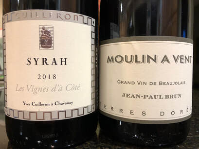 Beaujolais and Syrah from two storied producers.